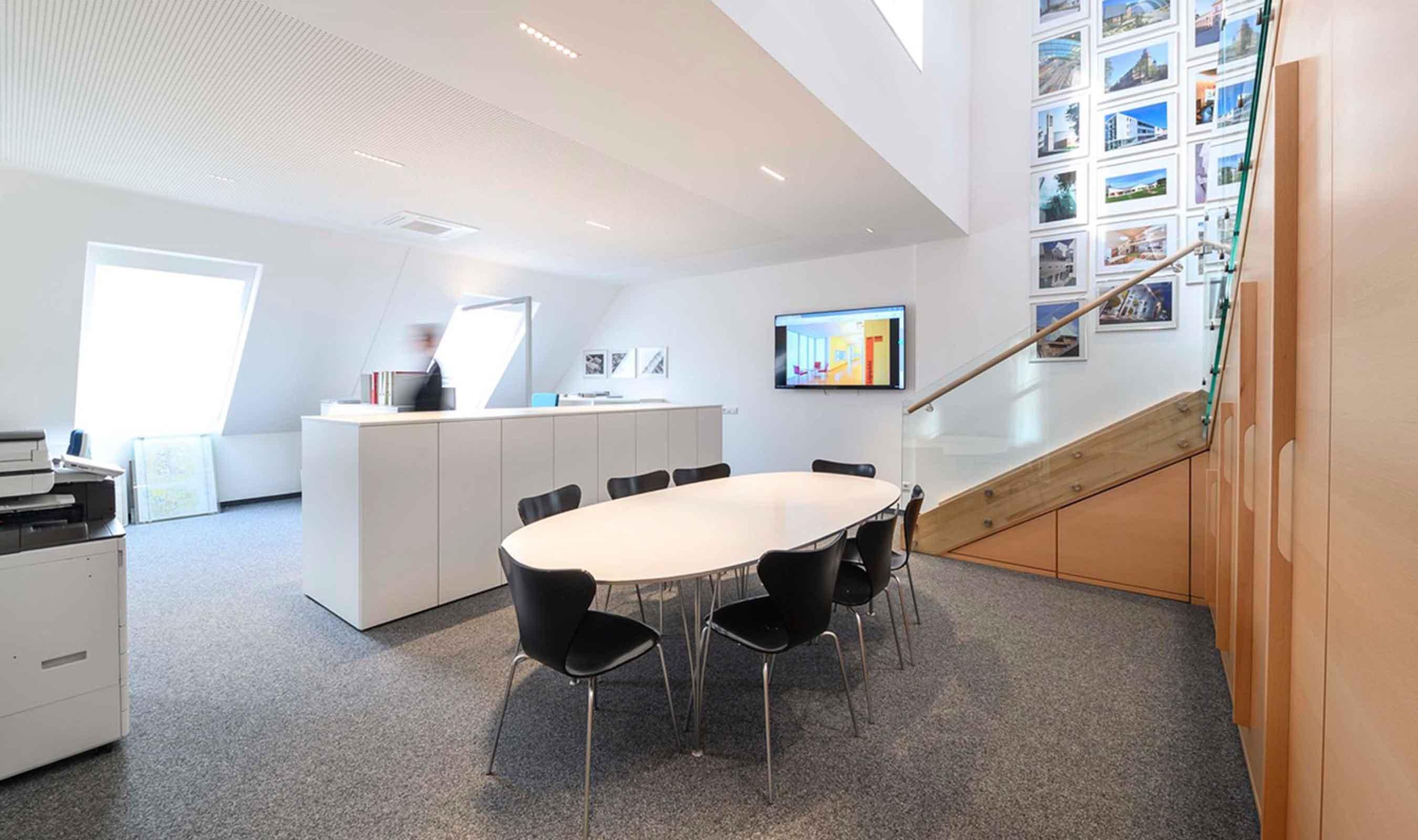 Architekt Pfoser Innenansicht Büro