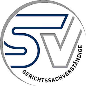 Logo SV: Allgemein beeideter und gerichtlich zertifizierter Sachverständiger