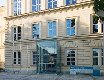 Architekt Pfoser: BRG & BORG St. Pölten — Vorschaubild