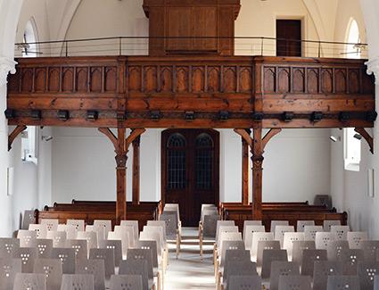 Architekt Pfoser: Evangelische Kirche — Vorschaubild