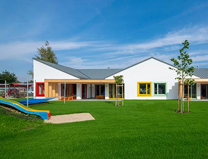 Architekt Pfoser: Kindergarten Hadres — Vorschaubild