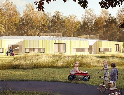 Architekt Pfoser: Kindergarten Universitätsklinikum — Vorschaubild