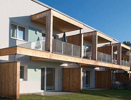 Architekt Pfoser: Wohnhausanlage Nöchling — Vorschaubild