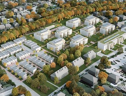 Architekt Pfoser: Wohnhausanlage Voith Platz — Vorschaubild