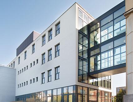 Architekt Pfoser: Zubau Privatgymnasium Mary Ward — Vorschaubild